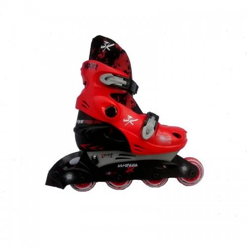 INLINE ΑΘΛΟΠΑΙΔΙΑ 1083 Red Πατίνια Inline Skates