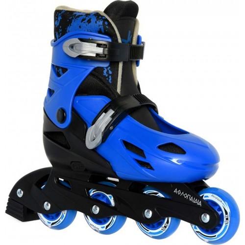 INLINE ΑΘΛΟΠΑΙΔΙΑ 1083 Blue - Black Πατίνια Inline Skates