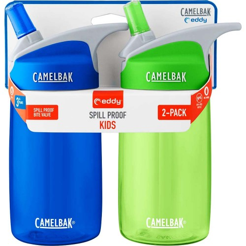 Camelbak Eddy Kids 2 Pack 400ml Blue/Grass Παγούρι Παγούρια