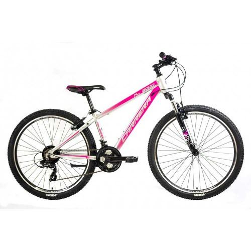 CARRERA M6 2000 VB 26'' 2020 Silver - Pink Ποδήλατο MTB Hardtail 26''