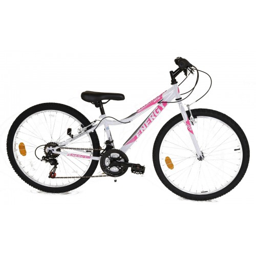 ENERGY THUNDER 24'' Ladies White-Pink Ποδήλατο MTB Hardtail 24''