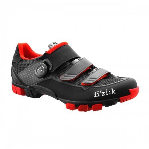 FIZIK M6B UOMO Black - Red Παπούτσια Mtb