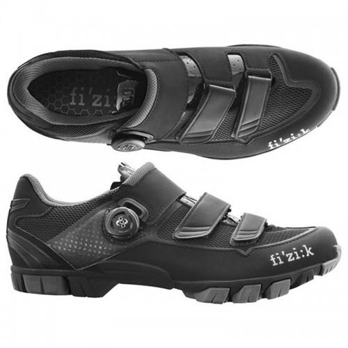 FIZIK M6B UOMO Black - Silver Παπούτσια Mtb