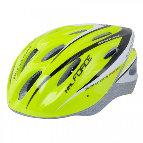 FORCE HAL HELMETS Fluo - Black 902471 Κράνος Mtb - Trekking