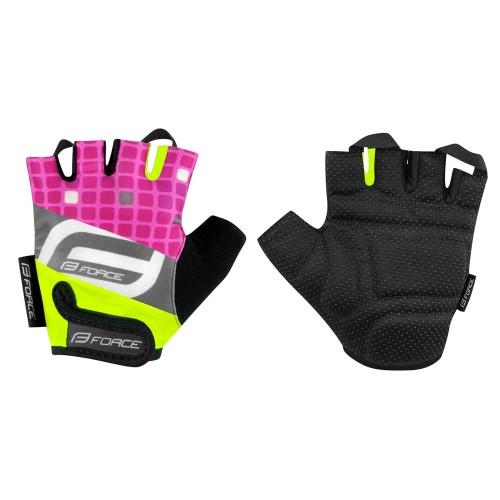 FORCE F SQUARE Pink Παιδικά Γάντια Κοντά Παιδικά