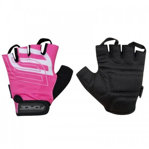 FORCE SPORT Pink Γάντια Κοντά Κοντά