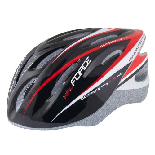 FORCE HAL HELMETS Black - Red 902483, 902484, 902485 Κράνος Mtb - Trekking