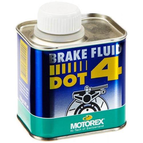 MOTOREX BRAKE FLUID DOT 4 250ml Υγρό Δισκόφρενου Λιπαντικά