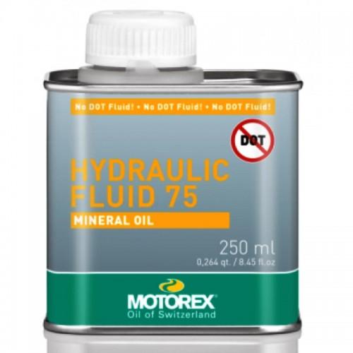 MOTOREX HYDRAULIC 75 MINERAL OIL 250ml Υγρό Δισκόφρενου Λιπαντικά