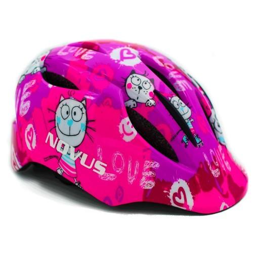 NOVUS Pink Kitty Κράνος Παιδικά