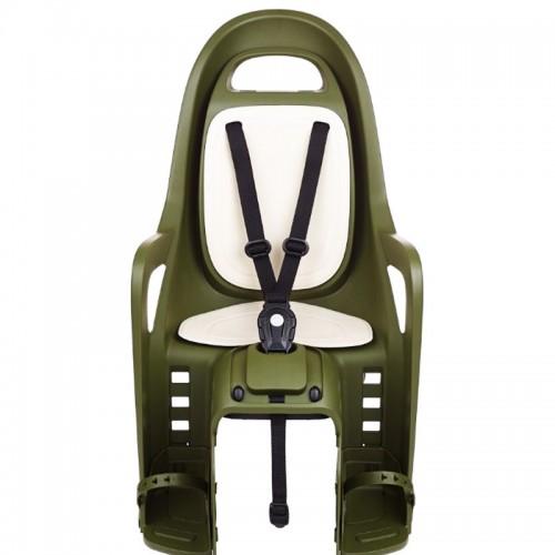 POLISPORT GROOVY Dark Green Cream Οπίσθιο Κάθισμα Σχάρας Καθίσματα παιδιών