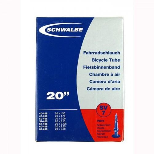 SCHWALBE 20 (SV 7) 20 x 1.50 - 2.50 Αεροθάλαμος Αεροθάλαμοι 20''