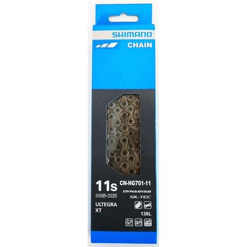 SHIMANO ULTEGRA / XT CN-HG701 HG-X11 11sp (138 link) Chain Αλυσίδα Αλυσίδες