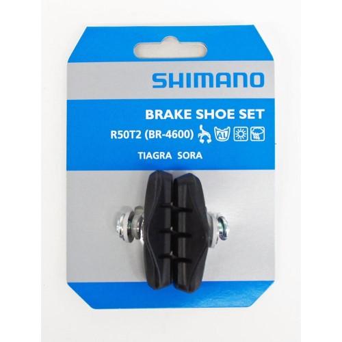 SHIMANO R50T2 BR-4600 BRAKE SHOES Παπουτσάκια Παπουτσάκια φρένων