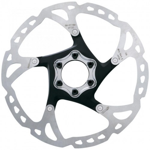 SHIMANO SM-RT76 DEORE XT 180mm 6-bolt Disc Rotor Ρότορες Δισκοφρένων