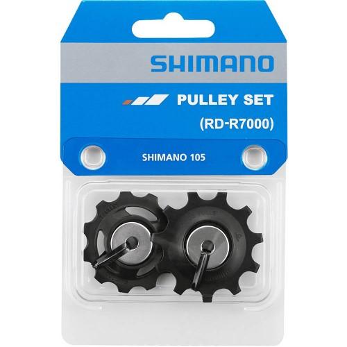 SHIMANO 105 RD-R7000 PULLEY SET Ροδάκια Σασμάν Ροδάκια Ντεραγιέρ