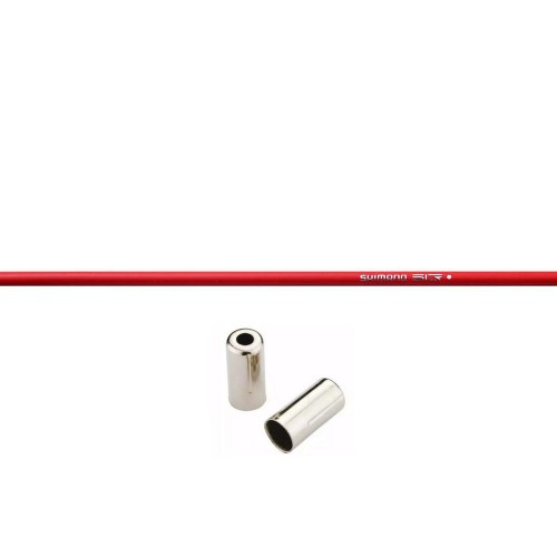SHIMANO SLR RED BRAKE OUTER CABLE 1000mm Εξωτερικό Καλώδιο Φρένου Σύρματα - Καλώδια