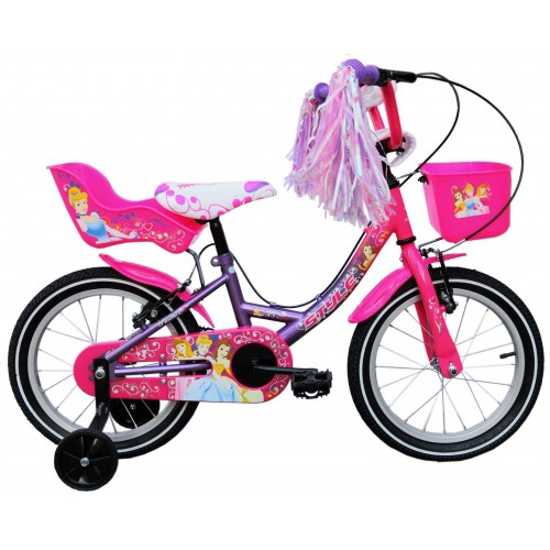 "STYLE 14"" Style Princess - Ρink Purple Ποδήλατο 14 inch"