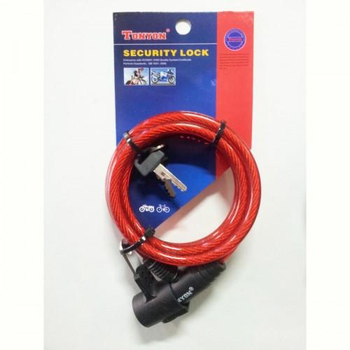 TONYON TY513 E Red Κλειδαριά Κλειδαριές