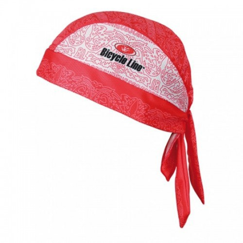 BICYCLE LINE SWIFT BANDANA Red - White Μπαντάνα Μπαντάνες