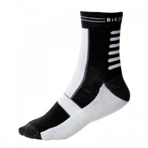 BICYCLE LINE PAUL SOCKS White - Black Κάλτσες Κάλτσες