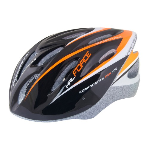 FORCE HAL HELMETS Black - Orange 902481, 902482 Κράνος Mtb - Trekking